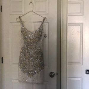Beautiful sequin cocktail dress